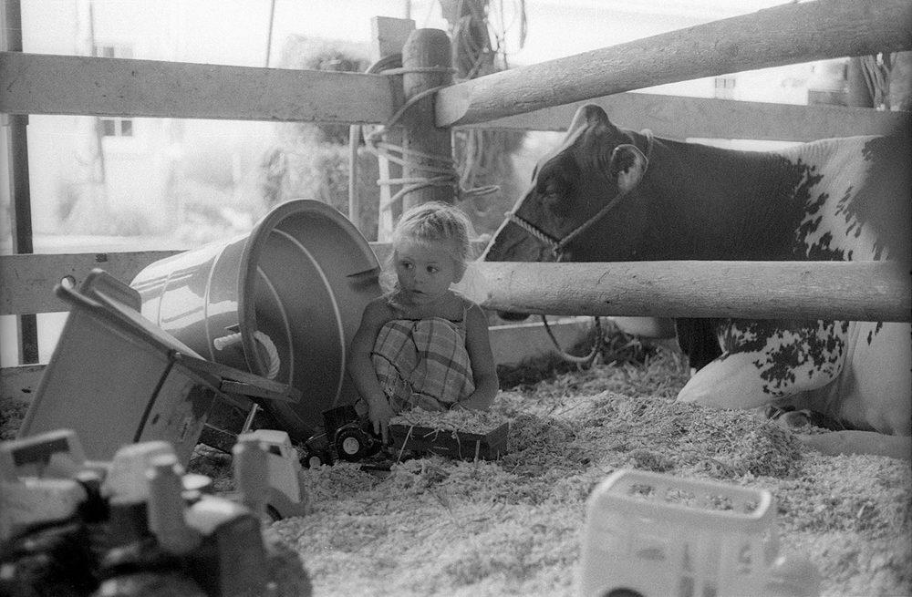 Little Girl at County FairS BY LEN BERNSTEIN