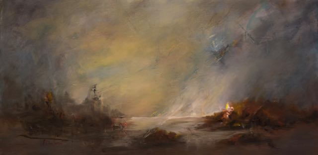 Light on the water by Mireille Duchesne