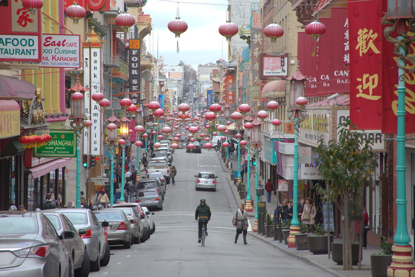 San Francisco's Chinatown is largest of its kind in North America