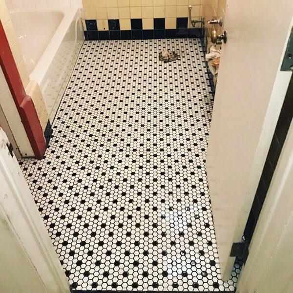 We love this stunning and detailed tile job completed by Elvis on our team.