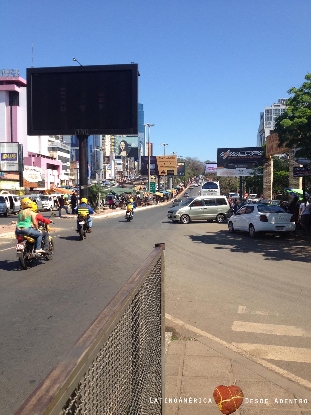 Así se ve Paraguay cuando se cruza el Puente de la Amistad
