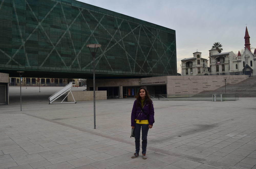 No museu da Memoria / En el museo de la memoria