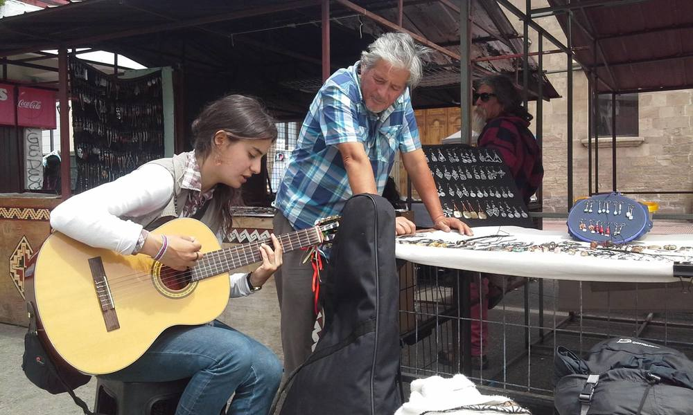 Musica de Rua em La Serena - Chile / Musica Callejera en La Serena - Chile