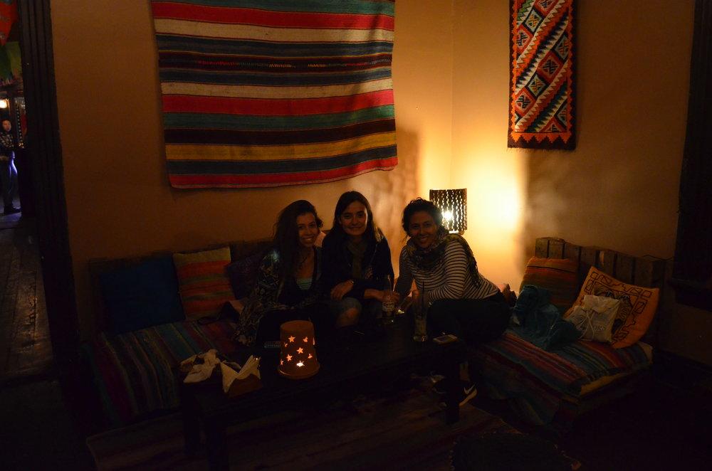 Amigas que conheci pelo Couchsurfing e me receberam em Copiapó Chile