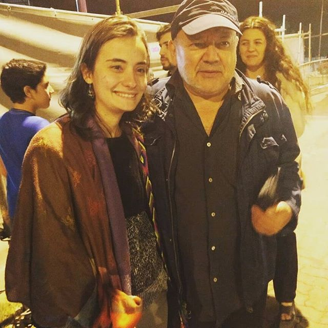Conociendo los artistas de Inti Illimani historico. Un honor ver el concierto y dar un abrazo y conocer a algunos de esta banda tan épica de Sudamérica.