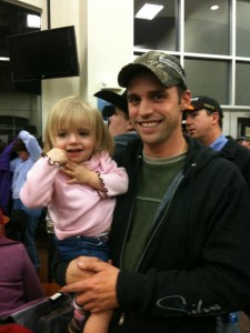 Frank and Hailey Ordner at the Draw Party!