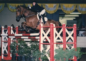 Brother Streakin and Mandy McCutcheon– second at the 1996 Las Colinas $20,000 Grand Prix