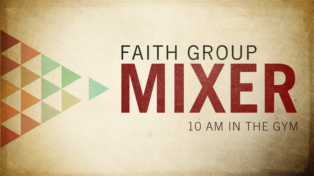 GET SIGNED UP FOR YOUR SPRING FAITH GROUP CLASSES!