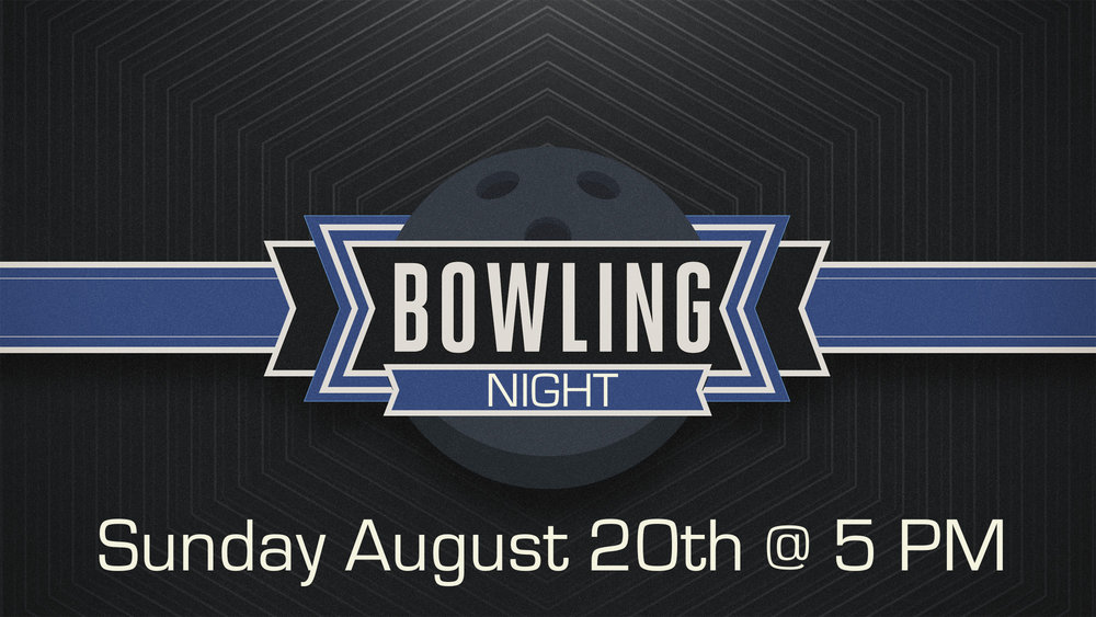 Bring $5 and come out and bowl...