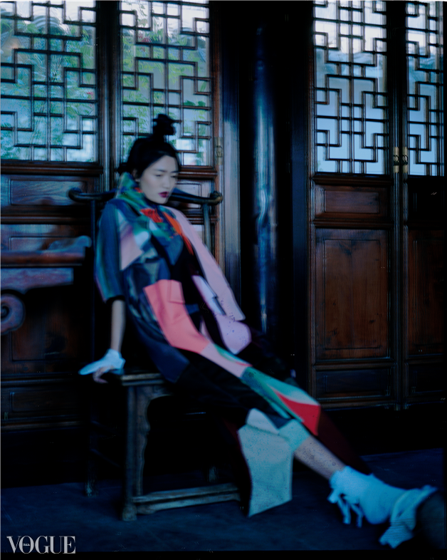 Photo Vogue - Editorial for XINGYUAN XU 2016 collection selected by Photo Vogue