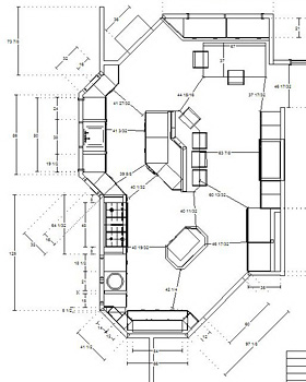 your kitchen floor plan how to visualize the kitchen