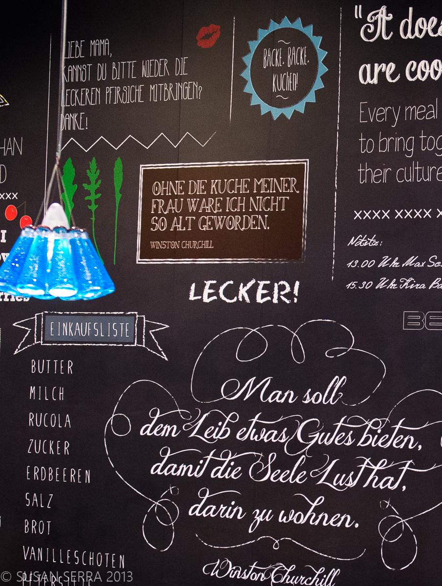 Chalkboard Paint Kitchen Chalkboard Paint In The Kitchen The Kitchen Designer