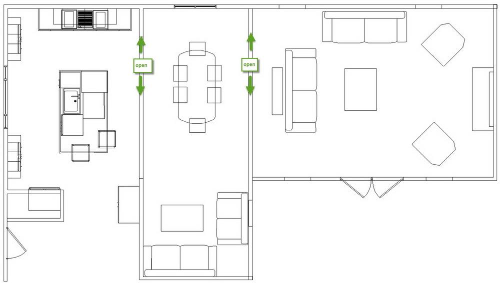 A design pro renovates her own kitchen the kitchen designer for Dream kitchen floor plans