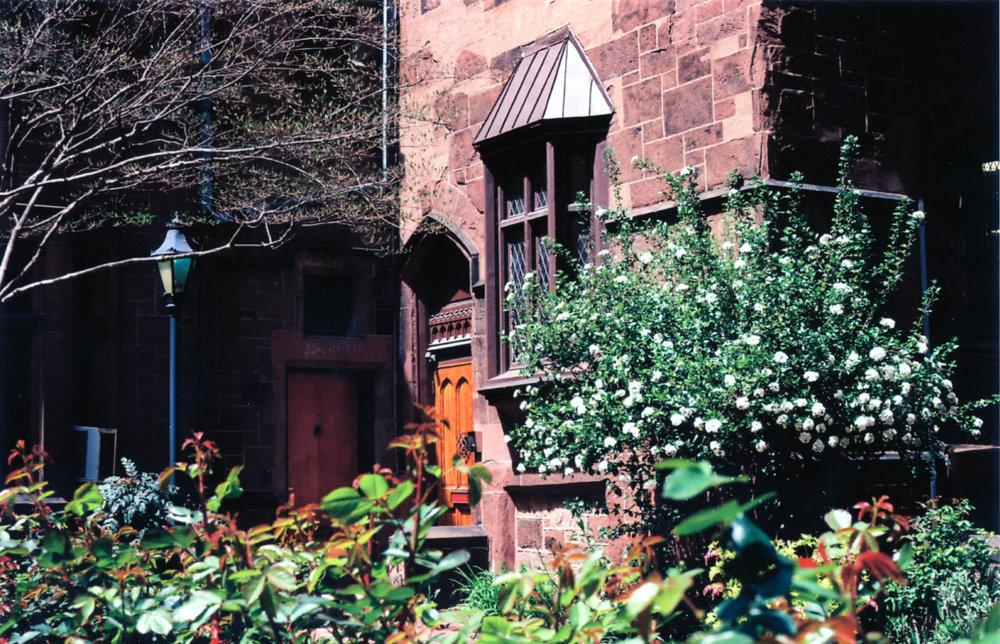 Garden - Philadelphia, PA    Ektar 100 - Olympus OM10