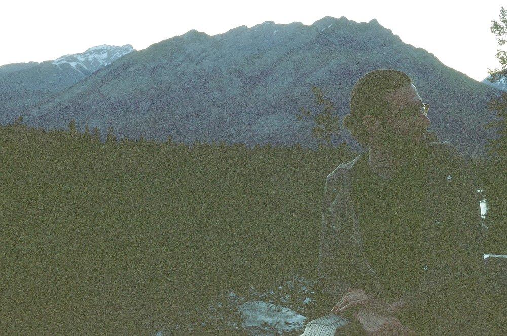 Surprise portrait -Surprise Corner - Banff, CA    Provia 100F - Olympus OM10