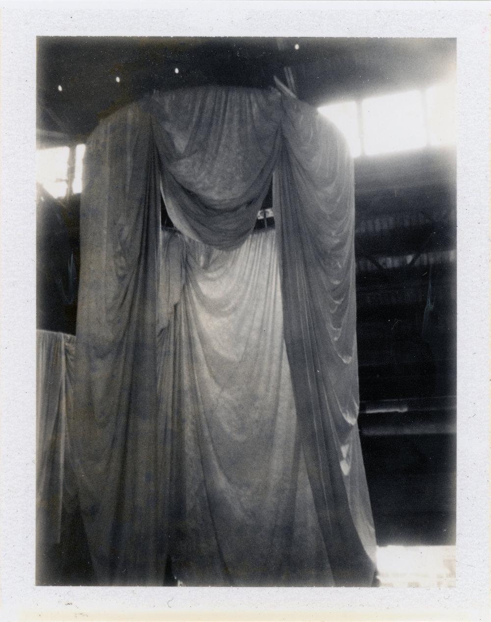 Habitus, installation by Ann Hamilton - Philadelphia, PA    Fujifilm FP 3000b - Polaroid Colorpack ii