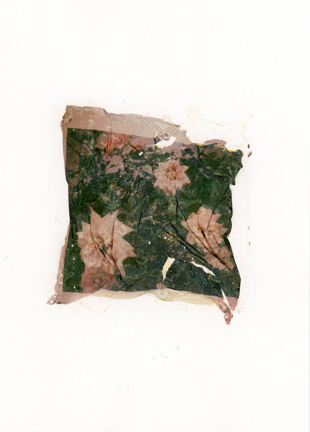 Physicality of photography - Philadelphia, PA    Polaroid 600, emulsion, Impossible lab exposure of digital image capture