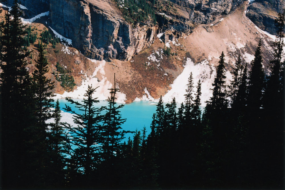 Hidden Gem - Lake Louise - Banff, CA    Ektar 100 - Olympus OM10