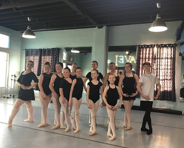 Our students are hard at work for our end of year performance, June 1st!  #okcdc #okc #oklahomacity #downtownokc #midtownokc #okcdance