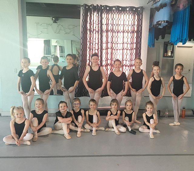 Such adorable cuties post rehearsal today! #okcdc #okc #oklahomacity #downtownokc #midtownokc #oklahoma #okcdance