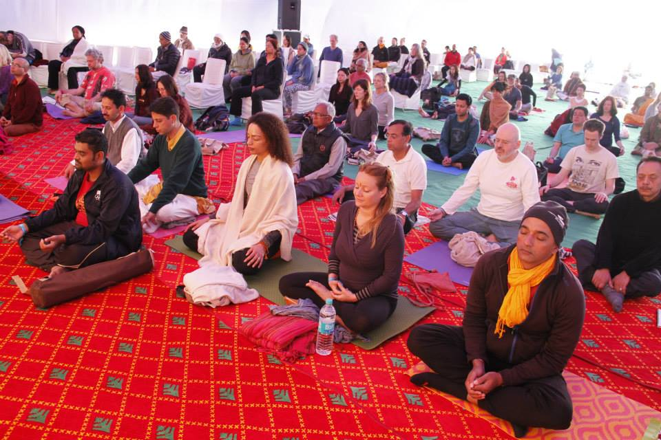 Break the Norms signature meditation experience in Rishikesh, India by Chandresh