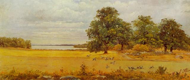 Eftersommar  (  Late Summer  ) by Hilma af Klint, 1903