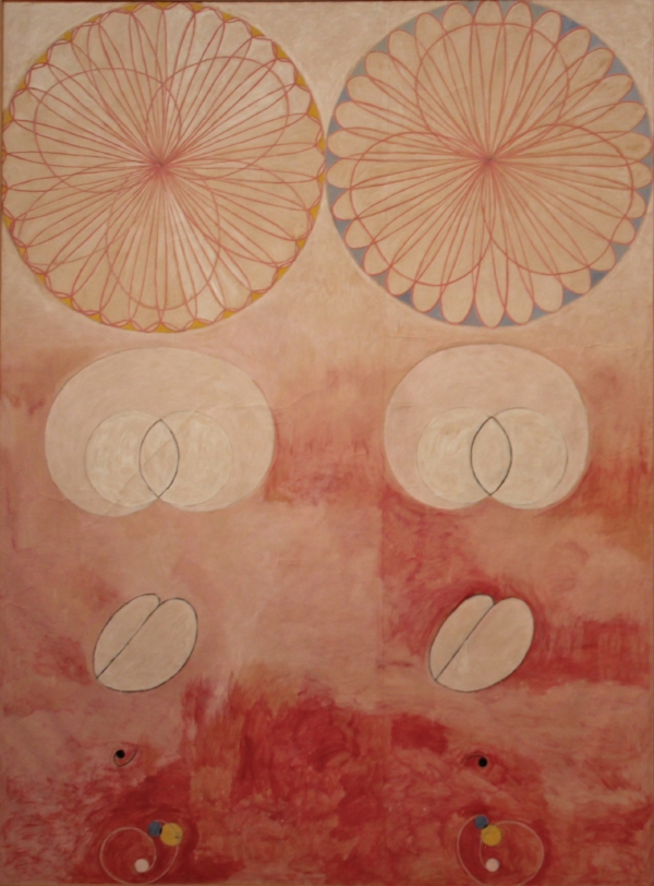 from  De Tio Största (The Ten Largest)   series by Hilma af Klint, 1907