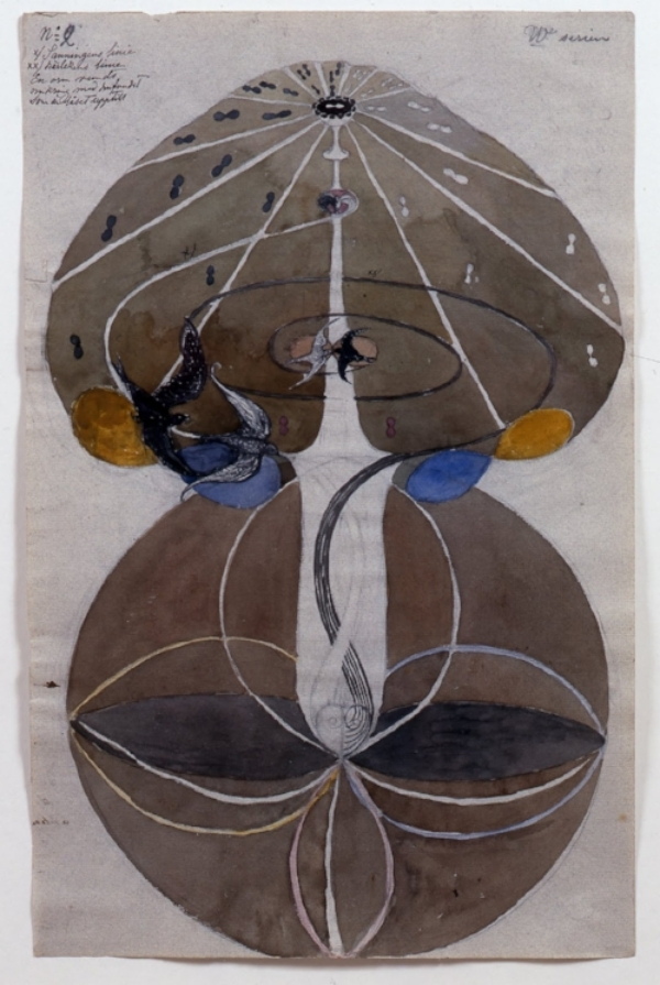 Untitled   by Hilma af Klint, no date