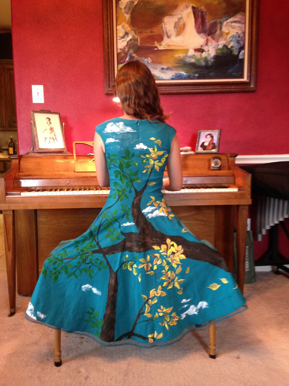 Custom Painted Clothing and Accessories -