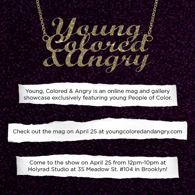 Welcome to the YCA Instagram account, where we'll be posting updates and counting down to the online mag debut + gallery show on April 25!!! Be there or be 🔲 💜 the curators, Ashley Rahimi Syed (@yungburqa) and Elliott Brown Jr. (@elliott.jerome)