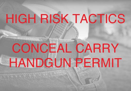 Conceal Carry Handgun Permit