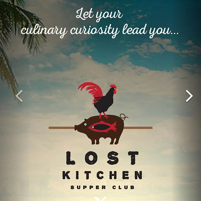 "Have you found @lostkitchenkw yet? This gem will be hosting our after party with tastings by @culinaryconch and @lcbarr from 7-9pm on Sunday. They do a little something called ""Casual Friday"" that is open to the public as well as ticketed events that are worth every penny. Stop by for dinner before the captains meeting and check it out!"