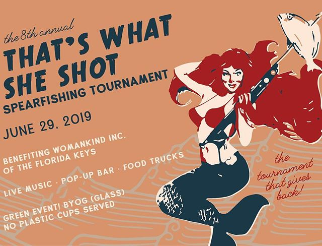 The tournament will be here before we know it. Sponsorships opportunities are still available. Vendors and food trucks will be meeting us at the dock for a party open to the public. Join us for live music, raffle prizes and beer! June 29th 6-9pm. . . . . . #keywest #dive #diving #freediving #freedive #florida #spear #spearfishing #fish #fishing