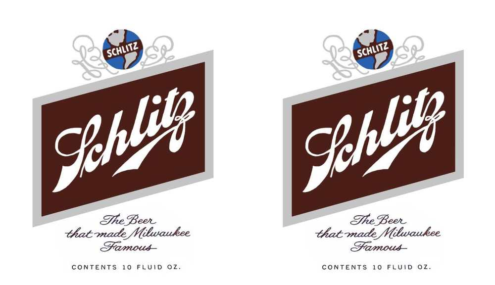 Beer Label - Schlitz