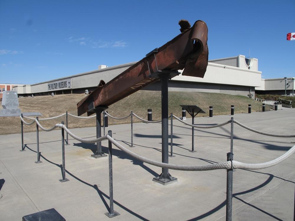 World Trade Center Artefact - Calgary, AB