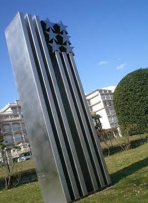 "Monumento ""Torri Gemelle"" - Stresa, Piedmont"