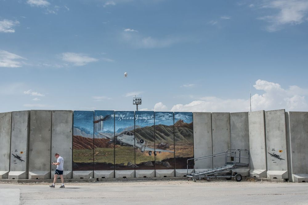 Bagram Airfield Memorial Mural - Bagram, Parvan
