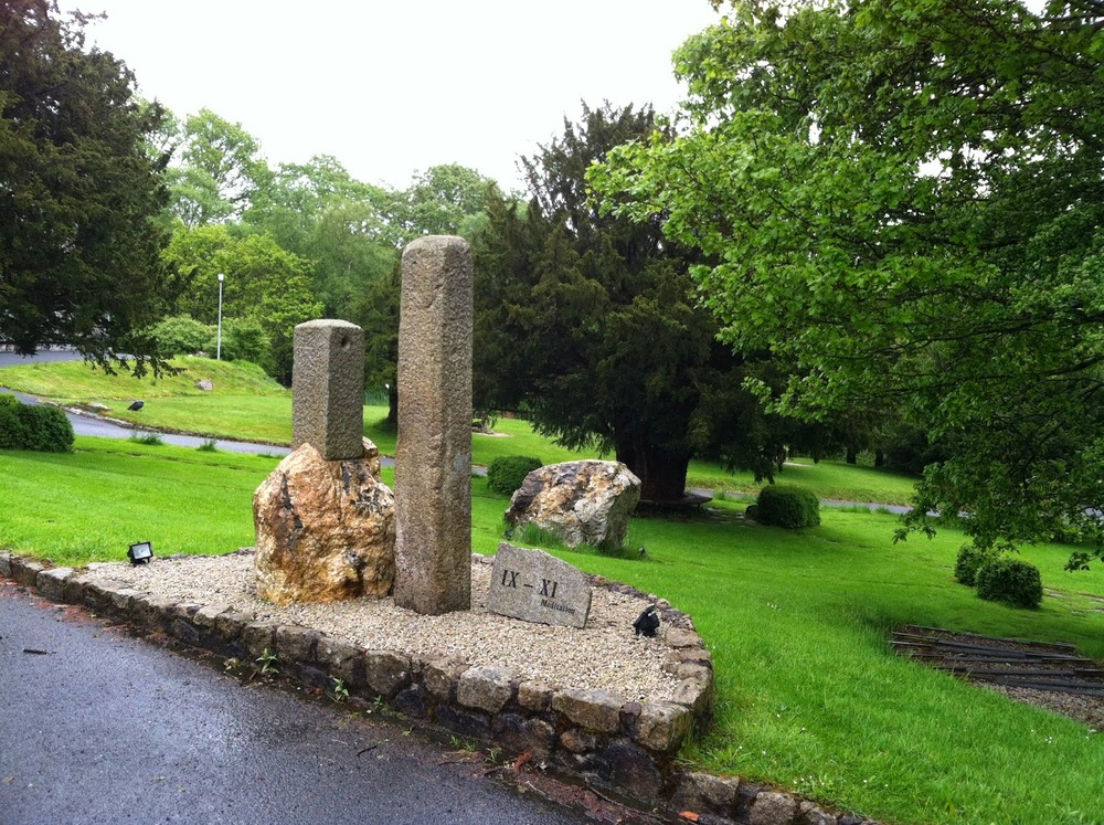 Glendalough Hermitage 9/11 Memorial - Glendalow, County Wicklow, Ireland