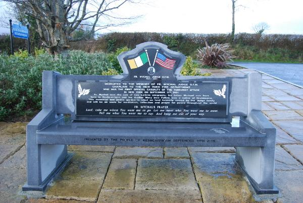 Father Mychal Judge 9/11 Memorial - Keshcarrigan, County Leitrim, Ireland