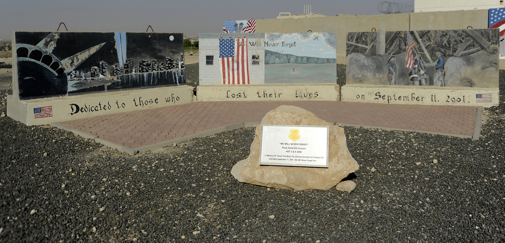 """We Will Never Forget"" - Ali Al Salem Air Base, Al Jahra, Kuwait"
