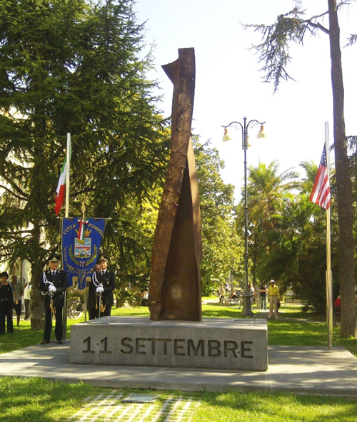 "Monumento alla Memoria ""11 Settembre"" - Pompeii, Naples, Italy"
