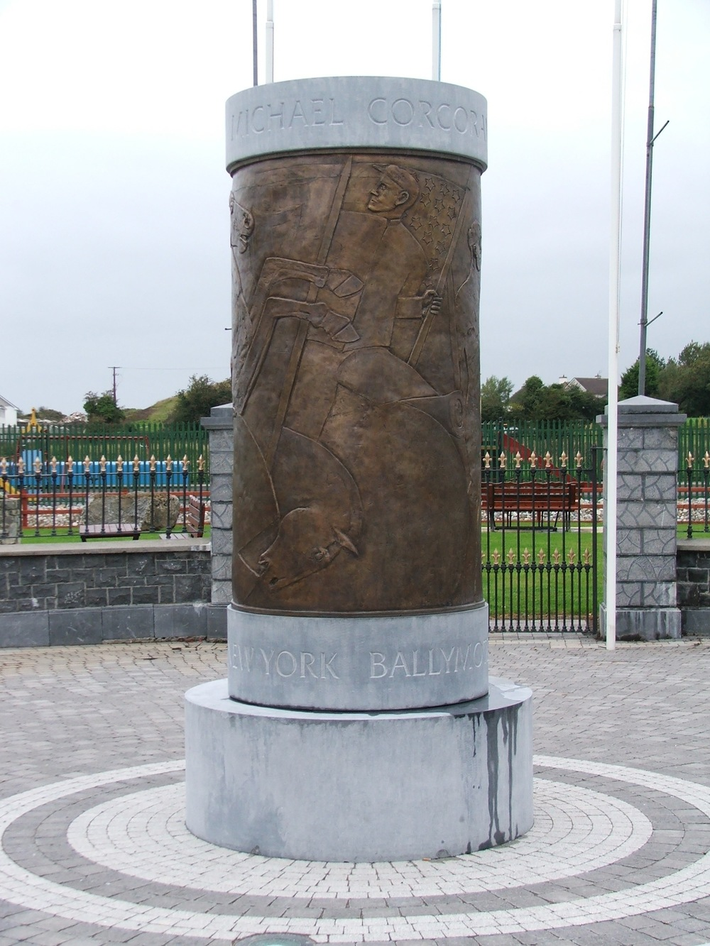 National Memorial to the Fighting 69th - Ballymote, Ireland
