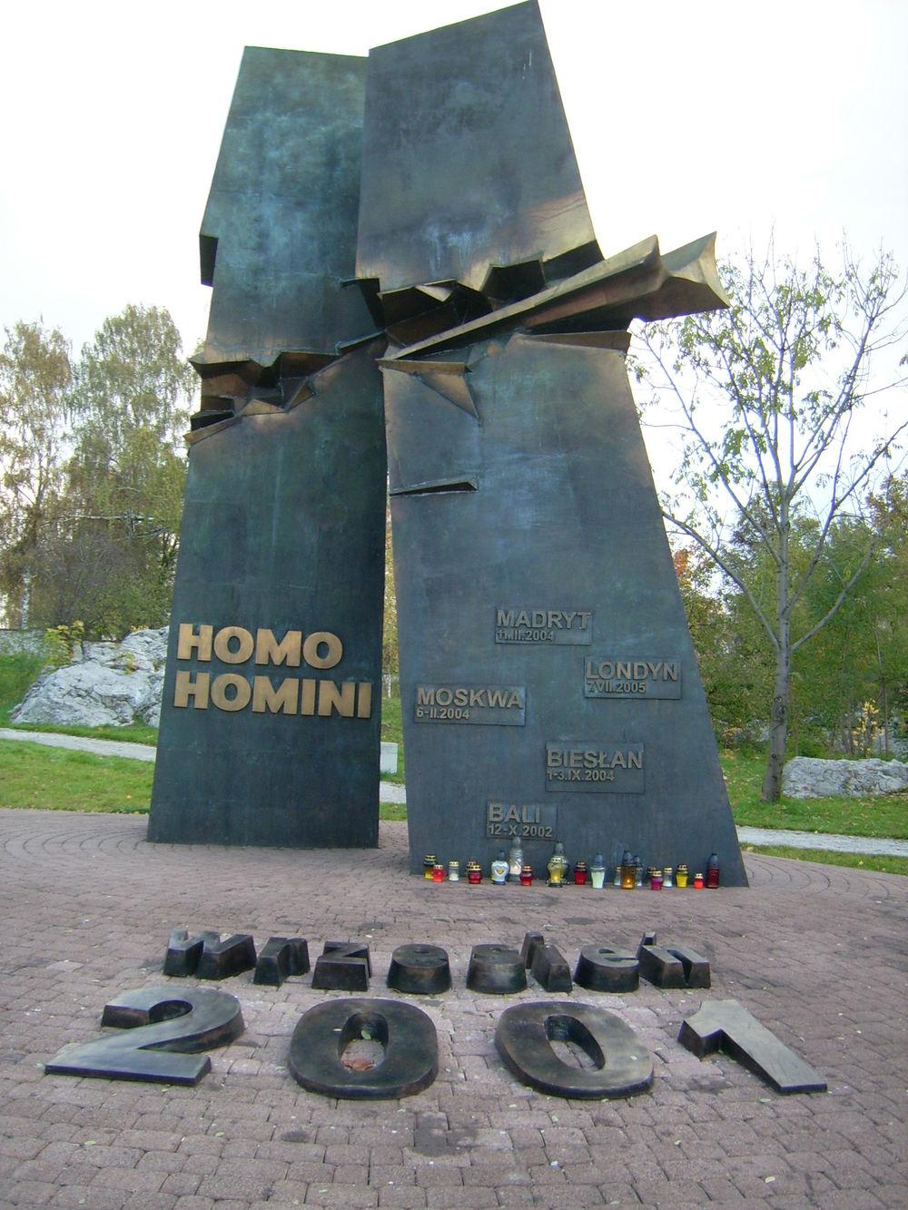 Homo Homini Memorial - Kielce, Poland