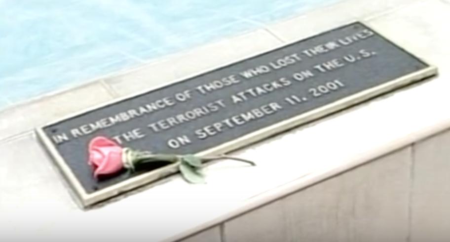 US Embassy 9/11 Memorial Plaque- Mexico City, Mexico