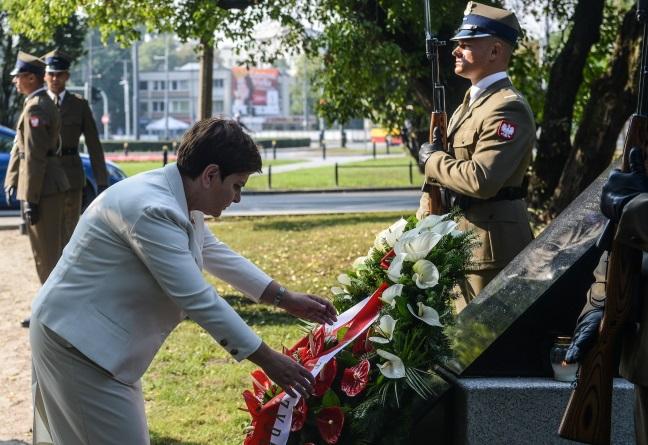 Memorial Plaque - Warsaw, Poland