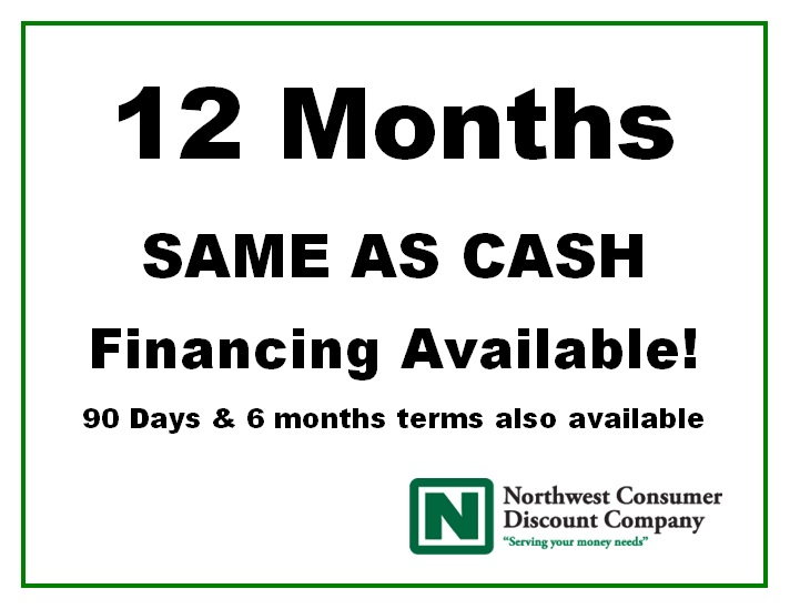 At  Hutch & Home , you can finance your purchase for up to 12 months with NO INTEREST! Wow!   Get everything you need to complete the room of your dreams and pay for it over time.