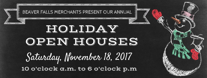 Join us for special discounts, wine & refreshments, and live music while you shop & enjoy all that Downtown Beaver Falls has to offer. Shop Local!