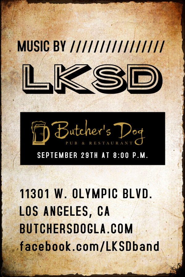 LKSD - Butcher's Dog Sept 29th.jpg