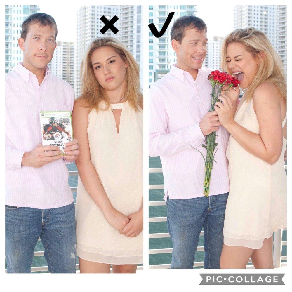 Tips de poses para parejas