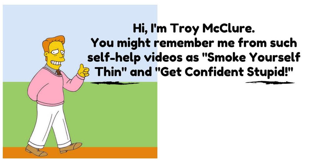 troy mcclure meme